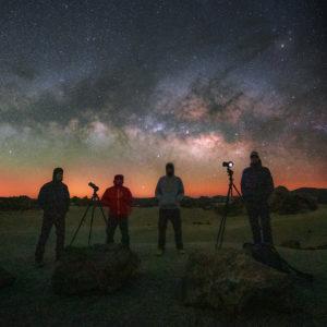 kurz fotografování hvězd