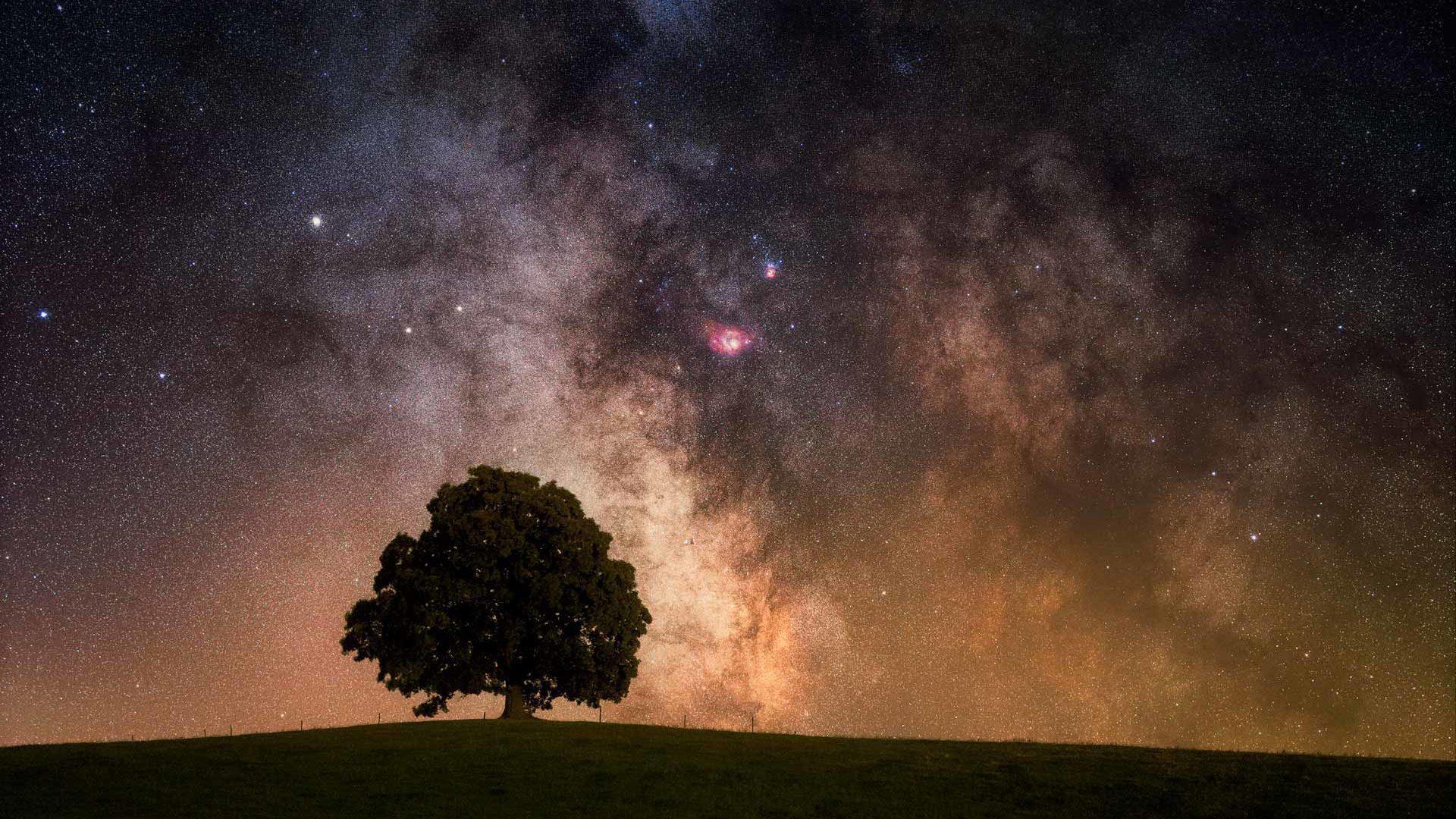 fotografie krajiny a astrofotografie