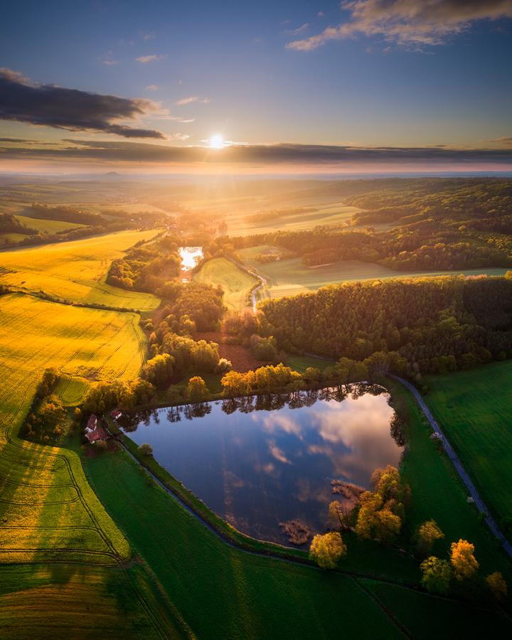Duhový rybník
