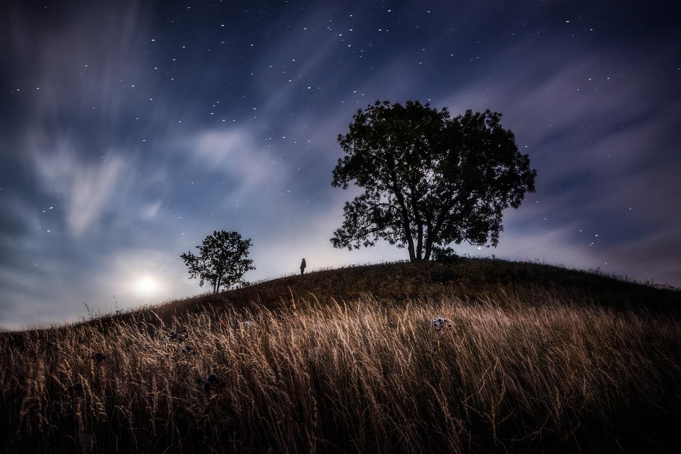 Zatmění měsíce na Tobiášově vrchu
